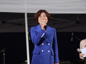 안성시, 김보라시장, '드라이브 인 콘서트' 참석